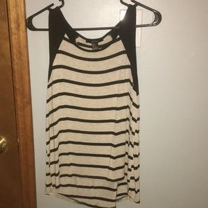 Forever21 striped tank top